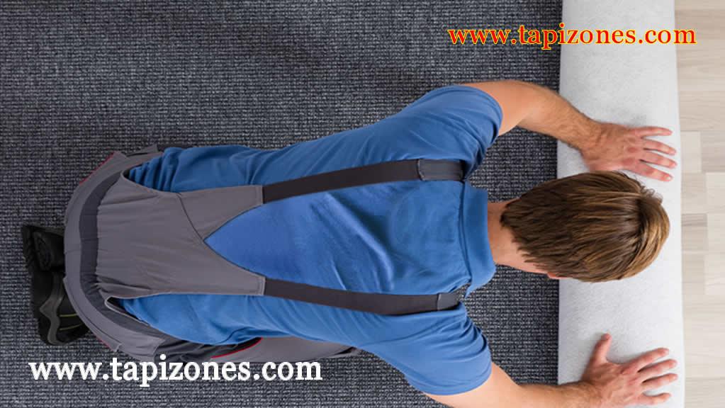 Instalación de tapizones
